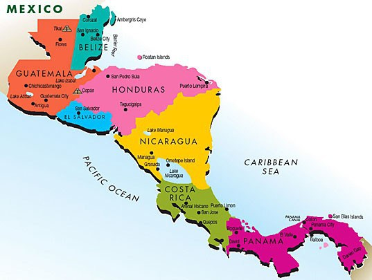 Liberty Christian Academy International Teachers - Map of costa rica world